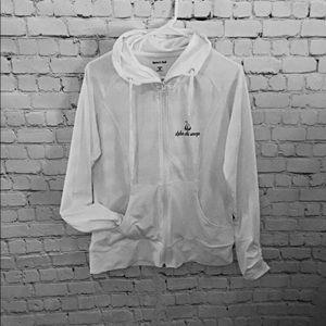Sale. Sport-Tek white hoodie size M